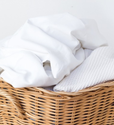 Laundry Washed by Commercial Washers for Care Facilities